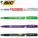 Customized Pens: BIC Pivo Clear Chrome Twist Pen